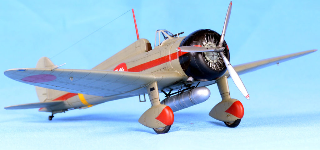 Wingsy Kits D5-02 IJN Type 96 carrier-based fighter IV A5M4 Claude model 1:48