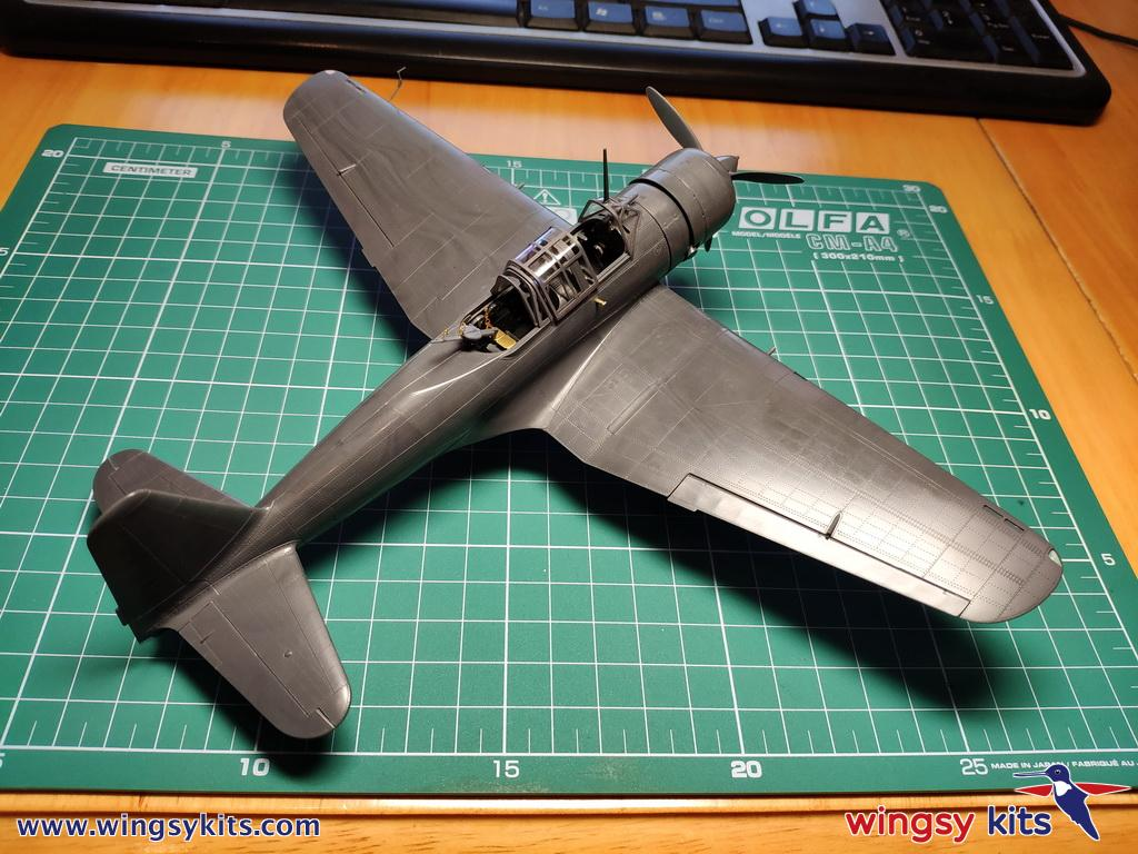 The test-build of D5-04 IJA Type 99 army assault plane Ki-51